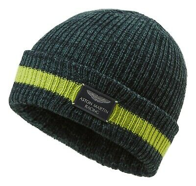Thermal Insulation Hat Fleece Lined Knitted Rally Beanie Insulated Ski Black
