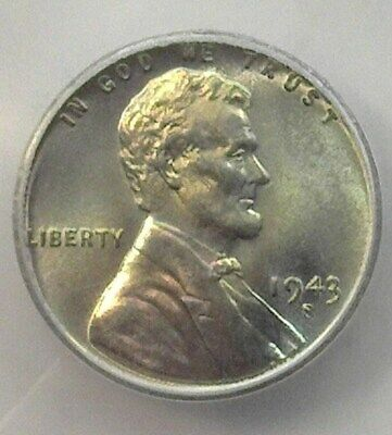 1943-S Lincoln Steel Wheat Cent  Icg Ms67 Lists For $240