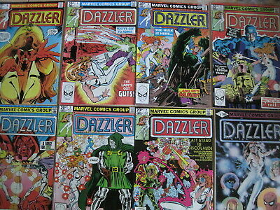 DAZZLER : COMPLETE 42 issue 1981 MARVEL series by TOM DeFALCO,JOHN ROMITA Jr etc