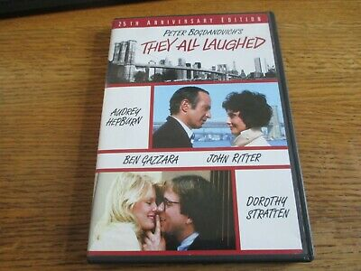 They All Laughed (DVD, 2006) 25th Anniversary Edition! Peter Bogdanovich!