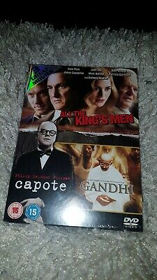 All The Kings Men.gandhi.capote.dvd.new And Sealed.