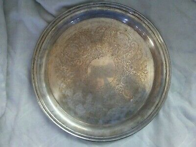 Eales 1779 Silver Plated Tray