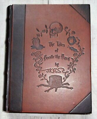J. K. Rowling, Tales Of Beedle The Bard, Limited Ed' - Book, Velvet Bag, Prints