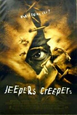 Jeepers Creepers Orig. Theatrical One-Sheet Poster--Francis Ford Coppola--Mint!