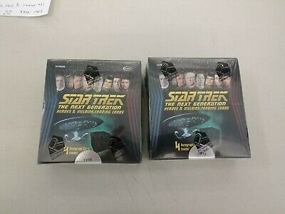 Star Trek  The Next Generation Heroes And Villains Trading Cards 4 Autograph...
