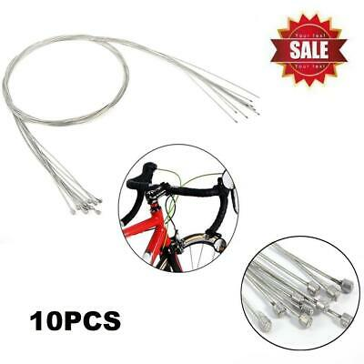 10pcs Bicycle Shift Shifter Derailleur Gear Stainless Steel Inner Cable Wire US