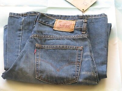 LEVI Jeans  589 Red Tab Size 12 FLARED