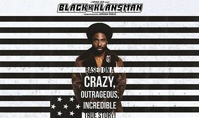 Black Klansman Blu Ray Disc Only from a 4K set - Please Read Listing!