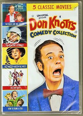 Don Knotts Comedy Collection 5 Classic Movies DVD BRAND NEW
