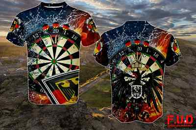 The Greatest Darts Bulldog England Custom 3d T-shirt Ever Made Don/'t miss out.