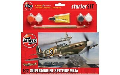 NEW AIRFIX 1:72 SCALE SUPERMARINE SPITFIRE Mkla MODEL KIT A55100