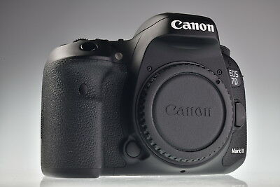 Canon EOS 7D Mark II 20.2MP Digital Camera Body Shutter Count 3992 Excellent
