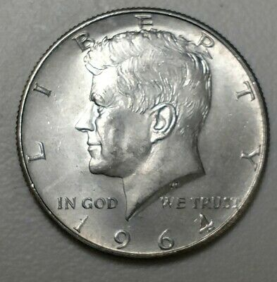 A Nice Silver Kennedy Half Dollar from 1964!  D-Mint