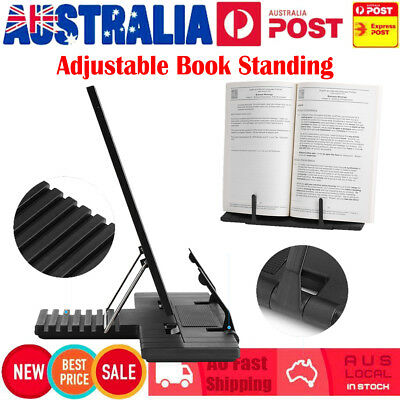 Portable Folding Book Stand Reading Desk Documents Holder Bookholder Rack NEW