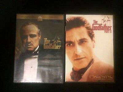 The Godfather Complete Part I and Part II DVD Collection