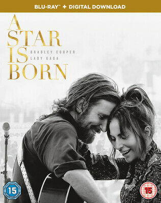 A Star Is Born Blu-ray (2019) Bradley Cooper cert 15 FREE Shipping, Save £s