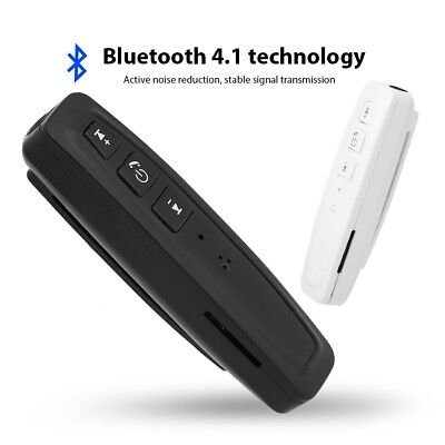 Mini Bluetooth 4.1 Wireless 3.5mm Stereo Audio Receiver Adapter HD Call TF Card