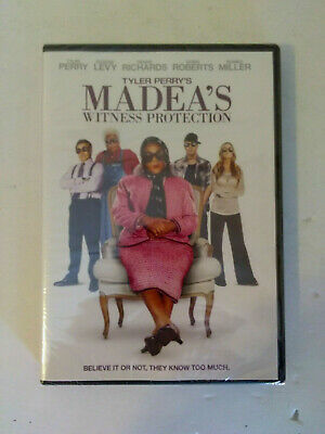 MADEA'S WITNESS PROTECTION (DVD, 2012) Tyler Perry, Doris Roberts, Eugene Levy