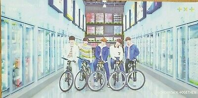 """K-POP TXT Album """"The Dream Chapter : STAR"""" Official Poster - Free Ship"""