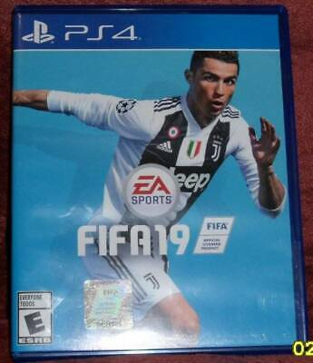 FIFA19, Video Game for PS4