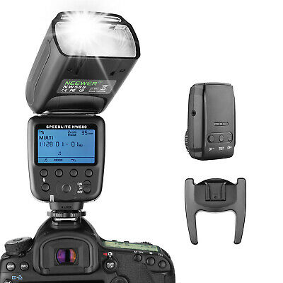Neewer Flash Inalámbrico Speedlite Canon Nikon Sony Panasonic Olympus(NW580)