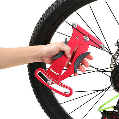 Bike Spoke Tension Gauge Meter Bicycle Wheel Measuring Adjusting Repairing Tool@