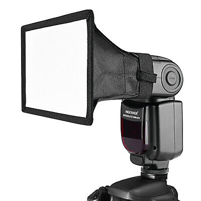 Neewer 3-Tama?o Speedlite Flash Difusor Luz Softbox para Canon, Nikon, Neewer