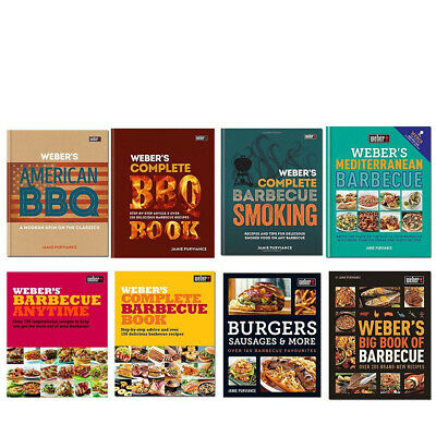 Jamie Purviance Weber's American Barbecue Complete BBQ Smoking Recipes  New Book