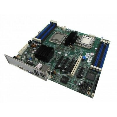 Intel S5500BC Server Motherboard Dual LGA1366 8 x DDR3 with Backplate