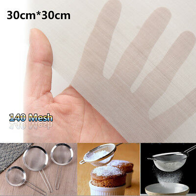 12''x12'' 140 Mesh 110 Micron Stainless Steel Woven Wire Cloth Silk Gauze