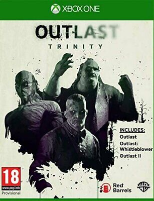 Outlast Trinity (Xbox One)  BRAND NEW AND SEALED - IN STOCK - QUICK DISPATCH