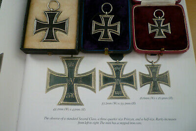 Ww1 Extra Rare  German  Iron Crosses-  3/4  Prinzen Size Boxed