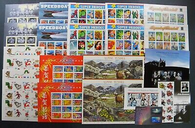 drbobstamps US MNH Self Adhesive Sheets & Souvenir Sheets Postage Lot Face $424