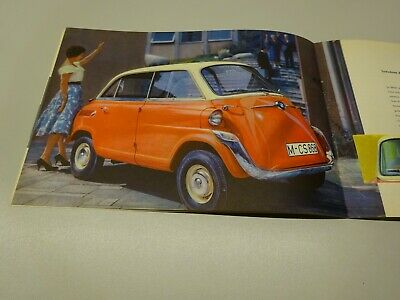 BMW 600 BROCHURE, in FRENCH. 10.'57.