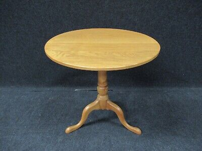 Antique Oak Tripod Table Dining Table Reproduction Breakfast Table