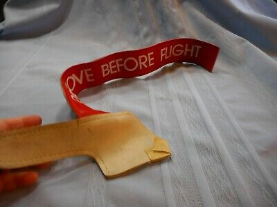Pitot Cover For Airplane REMOVE BEFORE FLIGHT