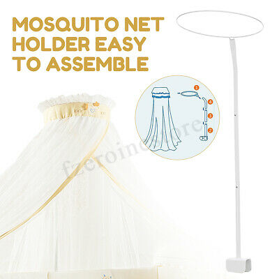 Mosquito Net Holder Accessories Baby Bed Cot Netting Canopy Drape Stand Crib