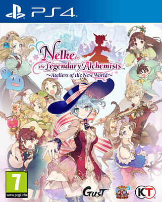 Nelke & the Legendary Alchemists: Ateliers of the PS4 *PREORDER ITEM* 29/03/19
