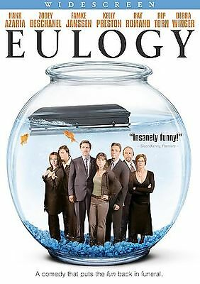 EULOGY 2005 DVD Widescreen Hank Azaria Zooey Deschanel Director Michael Clancy