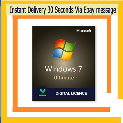 🔥 WIN 7 Ultimate Windows 7 Ultimate 32 64 Bit Original License Key Product KEY