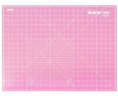 "OLFA Cutting Mat RM-IC-S/Pink 18"" X 24"" (450mm x 600mm) Fabric Leather Paper"