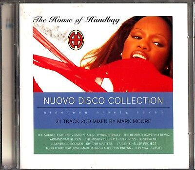 MARK MOORE OF S-EXPRESS DJ MIX The House Of Handbag 2-CD (Best/Disco) Todd Terry
