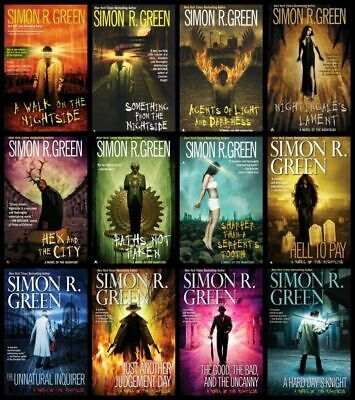 Complete Set Series -- Nightside Collection 1-12 Audiobooks By Simon R. Green