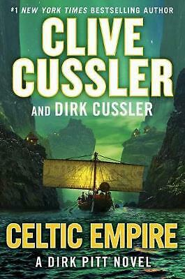 Celtic Empire by Clive Cussler (English) Hardcover Book Free Shipping!