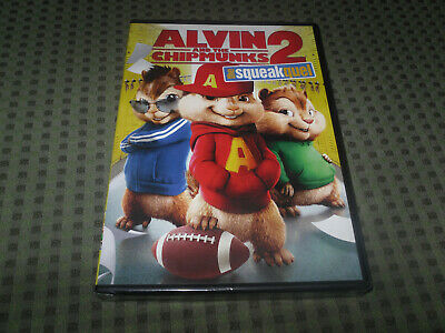 Alvin and the Chipmunks: The Squeakquel (DVD) BRAND NEW & SEALED