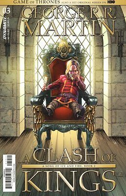 Game Of Thrones Clash Of Kings #3 Copertura a Fumetto 2017 - Dynamite Got