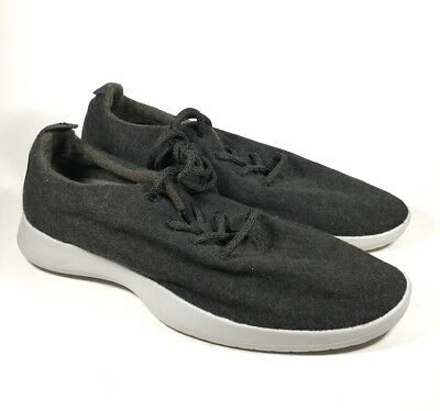 M4336L Men's Allbirds Wool Runners Lace Up Kotare Jo Natural Black/Gray Sole 13