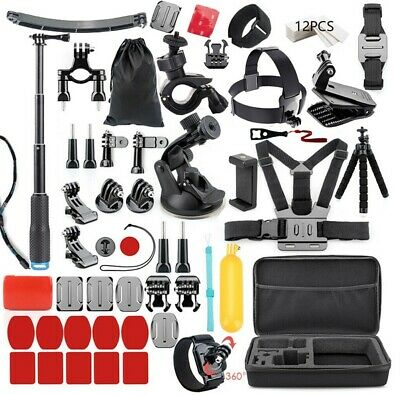 50 in 1 Action Camera Outdoor Sports Accessories Kit GoPro Hero 7/6/5/4/3/2/1