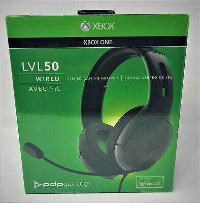 PDP LVL50 Wired Stereo Headset for Xbox One