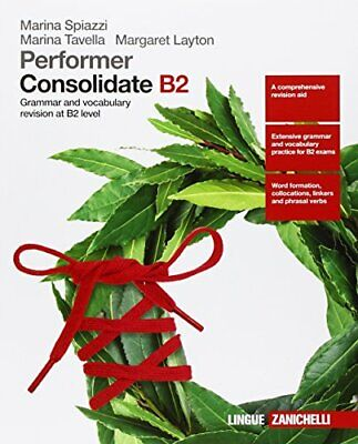 performer consolidate b2 grammar and vocubulary Layton 9788808637482